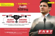 CA Final Special Audits Drone charts By CA Sarthak Jain