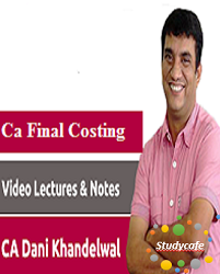 CA Final New Course SCM & PE by CA Dani Khandelwal [LMR Course ] (2 view)