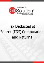 Buy or Renew Tax Deducted at Source (TDS) Computation and Returns Module