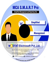 Buy Webtel MCA Returns Software for F.Y. 2018-19 at 10% Discount