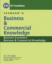 CA Foundation Business & Commercial Knowledge