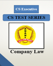 CS Executive Group I Company Law Test Series By Anant Institute