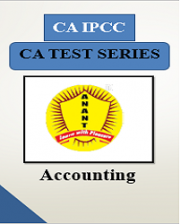 CA IPCC Group I Accounting Test Series By Anant Institute
