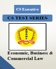 CS Executive Group II Economic,Business & Commercial Law Test Series By Anant Institute