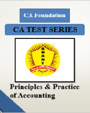 CA Foundation Principles & Practice of Accounting Test Series By Anant Institute
