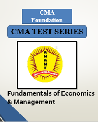 CMA Foundation Fundamentals of Economics & Management Test Series By Anant Institute