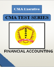 CMA Executive Group 1 Financial Accounting Test Series By Anant Institute
