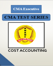CMA Executive Group 1 Cost Accounting Test Series By Anant Institute
