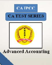 CA IPCC Group II Advanced Accounting Test Series By Anant Institute