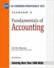 Fundamentals of Accounting (CA-CPT) By CA DG Sharma