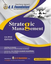 CA IPCC STRATEGIC MANAGEMENT (SM), COLOR BOOK By CA Vinod Kumar Agarwal