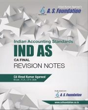CA FINAL IND AS REVISION BOOK