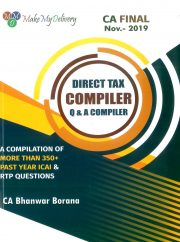 CA FINAL DIRECT TAX COMPACT Q/A COMPLIER BY CA BHANWAR BORANA