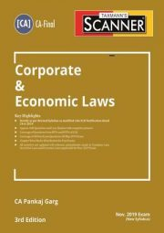 CA Final Scanner Corporate and Economic Laws New Syllabus By Pankaj Garg