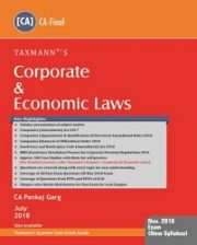 CA Final Corporate & Economic Laws by Pankaj Garg