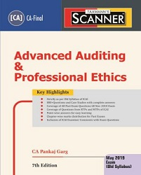 CA Final Old Syllabus Scanner - Advanced Auditing & Professional Ethics by Pankaj Garg