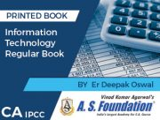 CA IPCC INFORMATION TECHNOLOGY - REGULAR BOOK