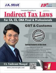 CA Final Indirect Tax Book by CA Yashvant Mangal