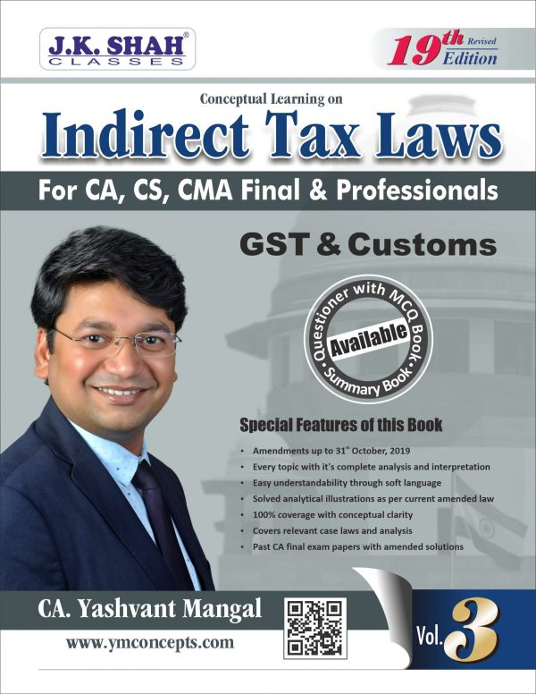 CA Final IDT Video Lectures by CA Yashvant Mangal