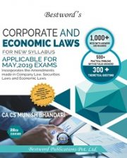 CA Final Corporate And Economic Laws New Syllabus By Munish Bhandari