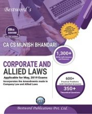 CA Final Corporate And Allied Laws Detailed Edition Old Syllabus By Munish Bhandari
