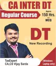 CA Inter Direct Tax Regular Full Course Video Lectures By CA Vijay Sarda
