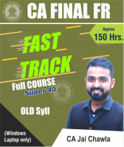 CA Final FR Fasttrack (Old Course) Video Lectures by CA Jai Chawla