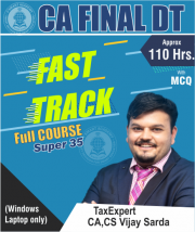 CA Final DT SUPER35 Fast Track Full Course Video Lectures By CA Vijay Sarda