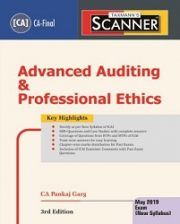 CA Final New Syllabus Scanner – Advanced Auditing & Professional Ethics by Pankaj Garg
