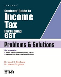 Students Guide To Income Tax including GST with Problems & Solutions (Combo)