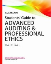 Students Guide to Advanced Auditing & Professional Ethics by CA Srinivasan Anand G