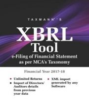 Buy or Renew Taxmann's XBRL Tool (Multi User) 2018