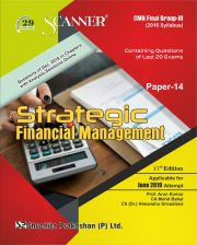 CMA Inter Scanner Group - II (2016 Syllabus) Paper-14 Strategic Financial management Regular Edition