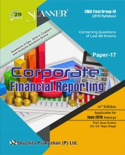 CMA Inter Scanner Group - II (2016 Syllabus) Paper-17 Corporate Financial reporting Regular Edition
