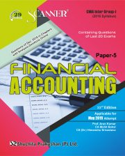 CMA Inter Group - I (2016 Syllabus) Paper- 5 Financial Accounting Regular Edition