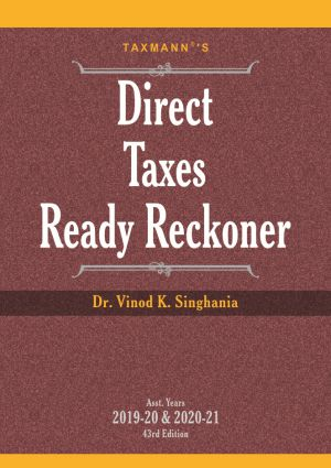 Buy Direct Tax Ready Reckoner and Income Tax Act