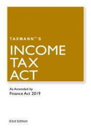 Buy Income Tax Act for F.Y. 2019-20 @ 10% Discount