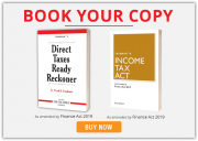 Buy Direct Tax Ready Reckoner and Income Tax Act for F.Y. 2019-20