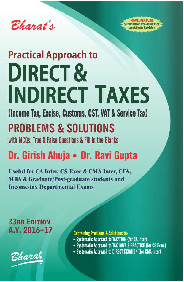 Indirect Tax Book