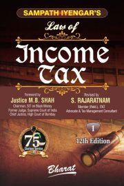 Sampath Iyengar's Law of INCOME TAX (In 11 vols.) [Complete Set Ready] [Vol. 11: Containing Commentary on Wealth Tax Act, 1957]