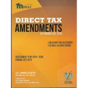 CA FINAL DIRECT TAX AMENDMENTS BY VINOD GUPTA (OLD & NEW SYLLABUS)