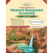 ADVANCED MANAGEMENT ACCOUNTING BY CA B.SARAVANA PRASATH (OLD SYLLABUS) CA-FINAL