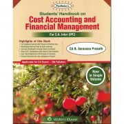 COST ACCOUNTING AND FINANCIAL MANAGEMENT BY CA G.SEKAR & CA B.SARAVANA PRASATH (OLD SYLLABUS) CA-INTER