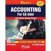 CA-INTER ACCOUNTING WITH SOLVED PAPERS BY DR.VISHAL SAXENA FOR NEW SYLLABUS
