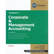 CORPORATE & MANAGEMENT ACCOUNTING BY N.S.ZAD (NEW SYLLABUS)