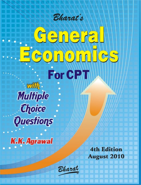 CA CPT General ECONOMICS with Multiple Choice Questions by K.K. Agrawal
