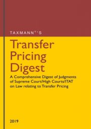TRANSFER PRICING DIGEST LATEST 2019 EDITION