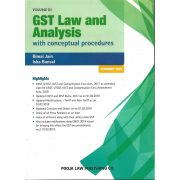 ST LAW AND ANALYSIS WITH CONCEPTUAL PROCEDURES BY BIMAL JAIN & ISHA BANSAL