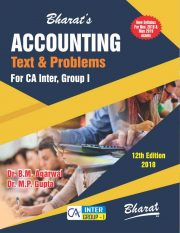 CA Inter ACCOUNTING (Text and Problems) (For CA Inter Group I)