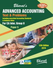 CA Inter ADVANCED ACCOUNTING (Text and Problems) For CA Inter [Group II (Paper 5)